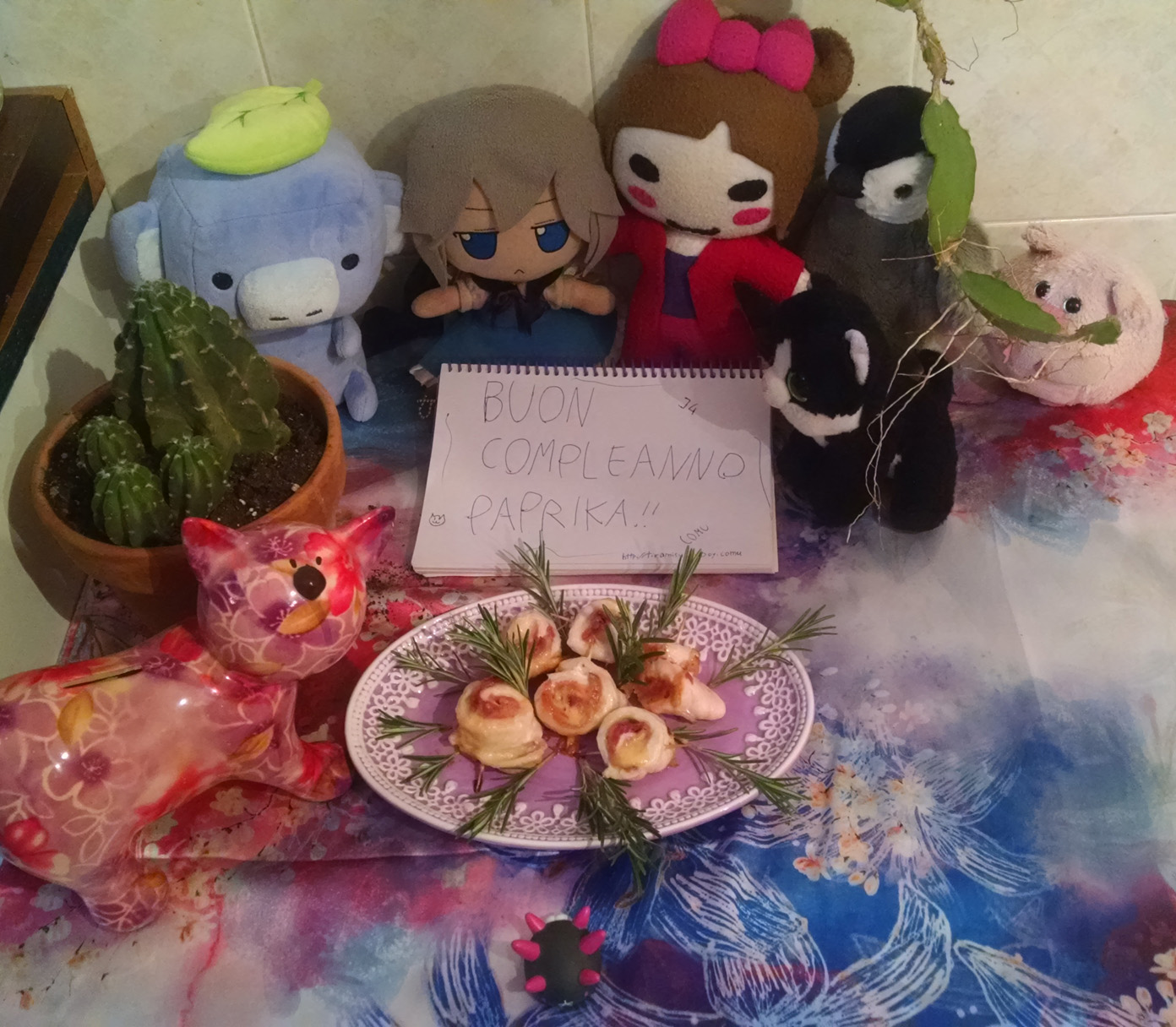 Happy birthday to Paprika! (2019)